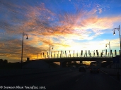 Breaking Dawn - Airport Road, Sharjah, U.A.E. © Seemeen Khan Yousufzai 2015